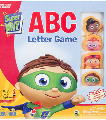 SuperWhy ABC Boxed Game