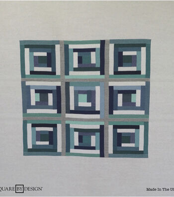 Square By Design® Woven Fabric 25''-Grays & Blues Geometric