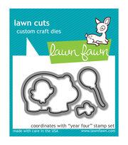 Lawn Fawn Lawn Cuts Custom Craft Die-Year 4, , hi-res