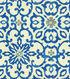 Home Decor 8\u0022x8\u0022 Fabric Swatch-HGTV HOME Souvenir Scroll Azure
