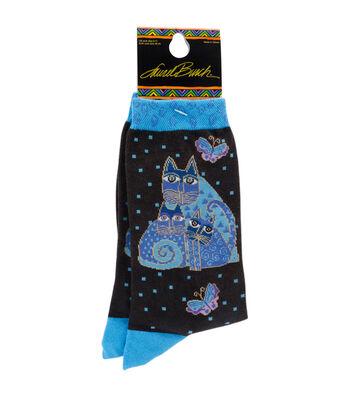 Indigo Cat-Laurel Burch Socks
