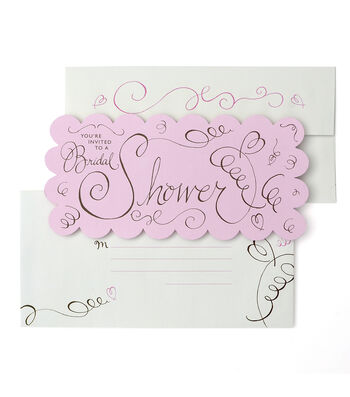 Save The Date™ 10 Pack Bridal Shower Invitation Cards