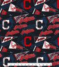 Cleveland Indians Cotton Fabric 58\u0022-Vintage
