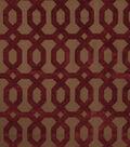 Home Decor 8\u0022x8\u0022 Fabric Swatch-Jaclyn Smith Formal  Berry