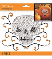 Jolee's Boutique Pumpkin Bling-Scary Skull, , hi-res