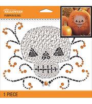 Jolee's Boutique Pumpkin Bling-Scary Skull, , hi-res