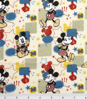 Disney® Mickey Flannel Fabric 43''-Comic Burst, , hi-res