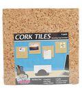 Board Dudes 6\u0022x6\u0022 Cork Tiles