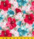 Gertie Collection Fabrics-Sateen Tropical Pink