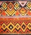 Novelty Cotton Fabric 45\u0022-Safari Blanket Stripe