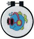 Dimensions Learn-A-Craft Cool Fins Cntd 3x3 X-Stitch Kit