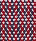 Patriotic Cotton Fabric 43\u0027\u0027-Stars on Stripes