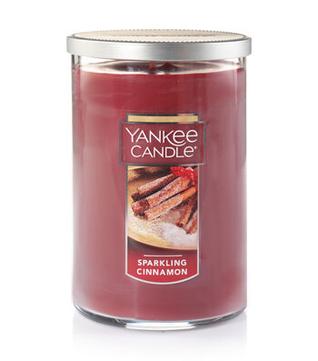 Yankee Candle Large 2-Wick Sparkling Cinnamon Scented Tumbler Candle