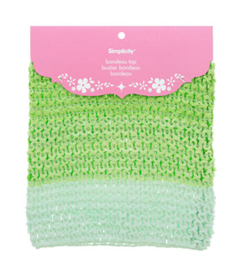 Simplicity Baby Crochet Bandeau Top-Lime Green