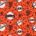 San Francisco Giants Fleece Fabric 58\u0022-Digital