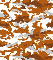 "University of Texas Longhorns Fleece Fabric 58""-Camo, , hi-res"
