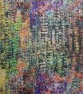 Nicole Miller Shadow Stripe Fabric-Alphabet Multi