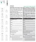 Mccall Pattern V2532 6-8-10 -Vogue Pattern