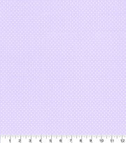 "Made in America Cotton Fabric 44""-Shabby Chic Dot Purple, , hi-res"