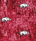 University of Arkansas Razorbacks Cotton Fabric 44\u0022-Tie Dye