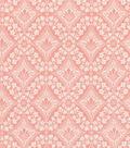 Premium Quilt Cotton Fabric 44\u0022-Lace Diamonds Blossom
