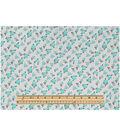 Keepsake Calico™ Cotton Fabric 43\u0022-Ditsy Floral Gray