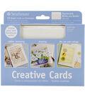 Strathmore Cards & Envelopes 5\u0027x7\u0022 10/Pkg-Fluorescent White/Deckle