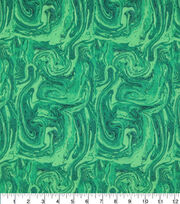 "Keepsake Calico™ Cotton Fabric 43""-Oil Slick Green, , hi-res"