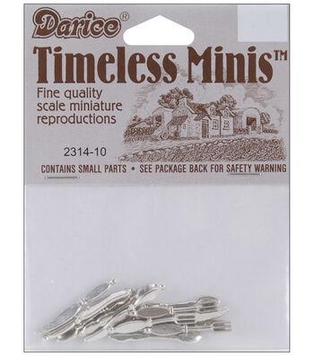 Darice Timeless Miniatures-Silverware-12
