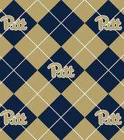 "University of Pittsburgh Panthers Fleece Fabric 58""-Argyle, , hi-res"