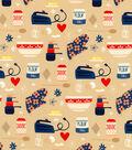 Novelty Cotton Fabric 44\u0022-Baking Supplies