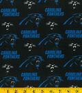 Carolina Panthers Cotton Fabric 58\u0027\u0027-Logo