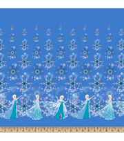 "Disney® Frozen Mock Smock Fabric 21""-Elsa and Snowflakes, , hi-res"