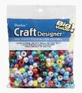 Big Value Pony Beads-Multi Colored Opaque
