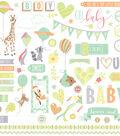 About A Little Boy Stickers 12\u0022X12\u0022-Elements
