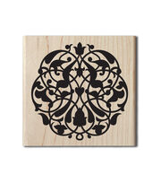 Hampton Art™ Cam & Chloe Mounted Stamp-Bold Flourish, , hi-res