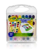 Crayola Washable Paint & Paper Set 50pc, , hi-res