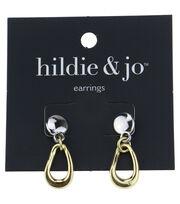 hildie & jo™ Silver & Gold Earrings, , hi-res