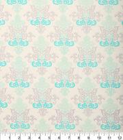 """Keepsake Calico™ Cotton Fabric 43""""-Damask Blue, , hi-res"""
