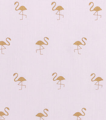 """Simply Silky Solid Rayon Fabric 53""""-Flamingo Foil Pink"""