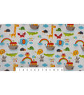 Micro Fleece Fabric 59\u0022-Noahs Ark