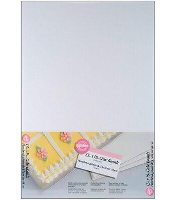 "Wilton® 13""x19"" Cake Boards-6/Pkg"