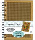 Dimensions 6\u0027\u0027 x 8\u0027\u0027 DIY Stitchable Journal