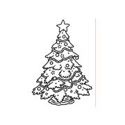Darice Embossing Folder - Christmas Tree,  4-1/2 x 5-3/4 inches, , hi-res