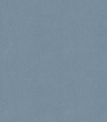 "Signature Series Solid Faux Suede Fabric 58""-Denim Blue"