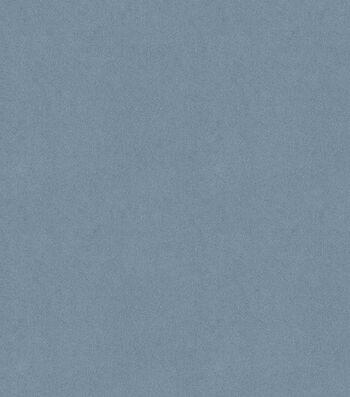 """Signature Series Multi-Purpose Faux Suede Decor Fabric 58""""-Denim Blue"""