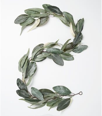 "Blooming Holiday 66"" Magnolia Leaves Garland"