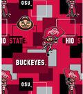 Ohio State University Buckeyes Cotton Fabric 43\u0022-New Block