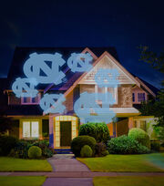 University of North Carolina Tarheels Team Pride Light, , hi-res