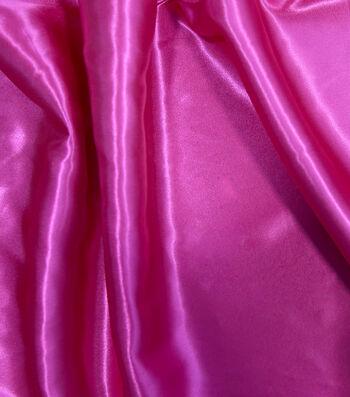 Glitterbug Fabric-Satin Fuchsia
